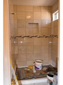 Shower pan liner